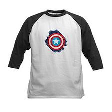 Captain America Distressed Sh Tee