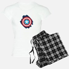 Captain America Distressed Pajamas