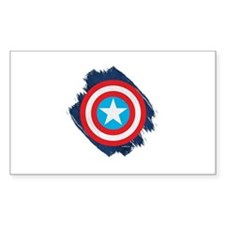Captain America Distressed Shi Decal