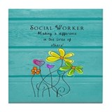 Social worker Drink Coasters
