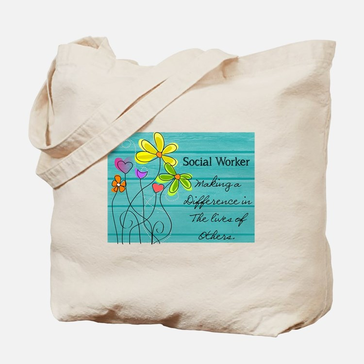 social worker Tote Bag