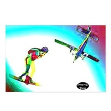 Sky Surfing Postcards (Package of 8)
