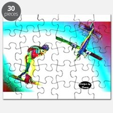 Sky Surfing Puzzle