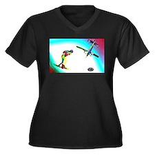 Sky Surfing Plus Size T-Shirt