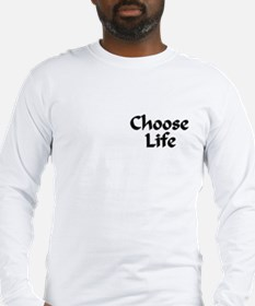 God is Pro-Life Long Sleeve T-Shirt