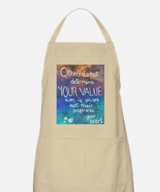 A Message from Your Heart Apron