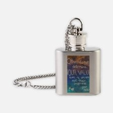 A Message from Your Heart Flask Necklace