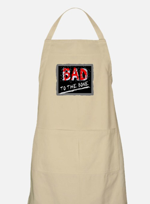 Bad To The Bone Apron