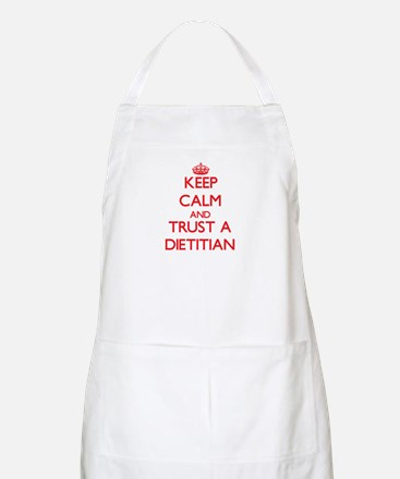 Keep Calm and Trust a Dietitian Apron