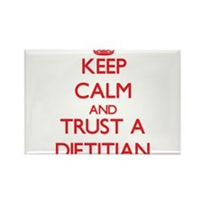 Keep Calm and Trust a Dietitian Magnets