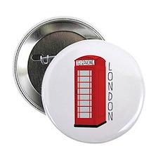 "Telephone London 2.25"" Button"