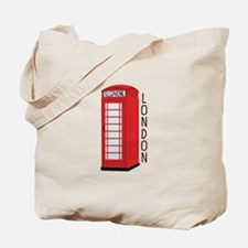Telephone London Tote Bag