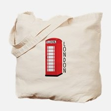 Telephone London Tote Bag