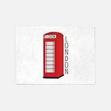 Telephone London 5'x7'Area Rug