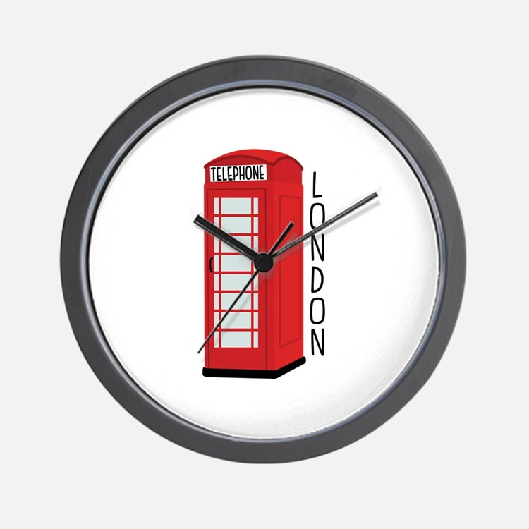 Telephone London Wall Clock