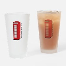 Telephone London Drinking Glass