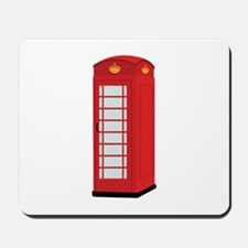Red Telephone Box Mousepad