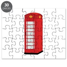 Red Telephone Box Puzzle