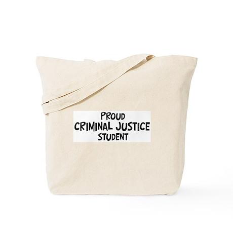 criminal justice student Tote Bag
