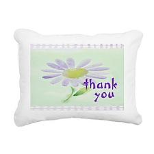 Flower Rectangular Canvas Pillow