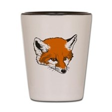 Cute Fox Head Shot Glass