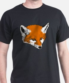 Cute Fox Head T-Shirt