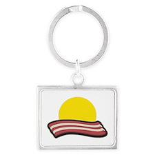 Bacon Sunset Keychains