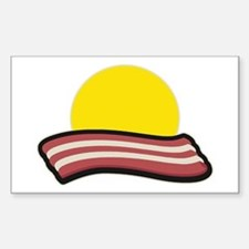 Bacon Sunset Decal