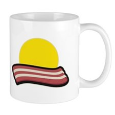 Bacon Sunset Mugs