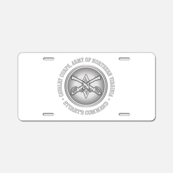 Cavalry Corps, ANV Aluminum License Plate