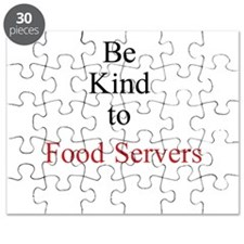 Be Kind to Food Servers Month Puzzle