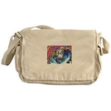 Cool Bear Messenger Bag