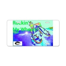 Rockin Wheels Aluminum License Plate