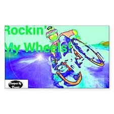 Rockin Wheels Decal