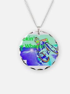 Rockin Wheels Necklace