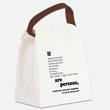 If Corps Were Just Folks Canvas Lunch Bag