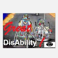 Great Ability Postcards (Package of 8)