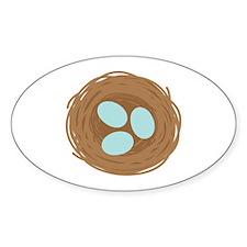 Robins Egg Nest Decal