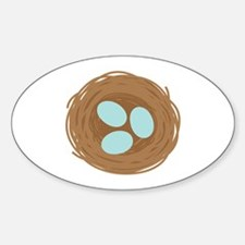 Robins Egg Nest Decal