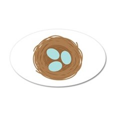 Robins Egg Nest Wall Decal
