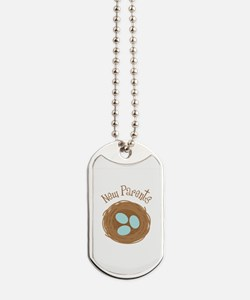 New Parents Dog Tags