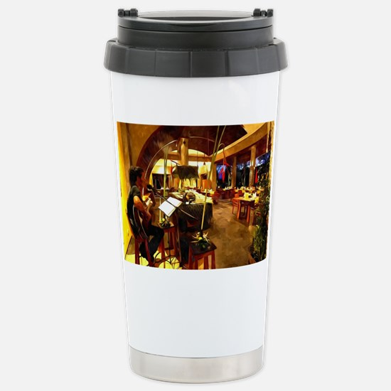 Maya sari asiatique 1 Stainless Steel Travel Mug