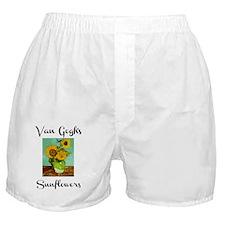 Van Gogh's Sunflowers Boxer Shorts