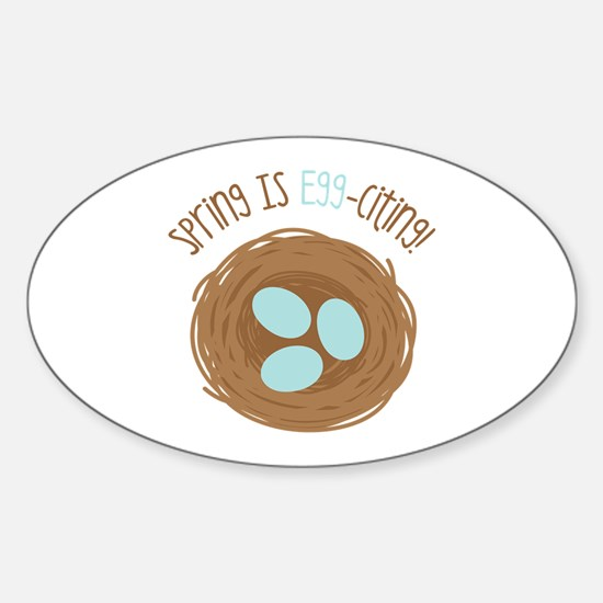 Spring is EGGciting Decal