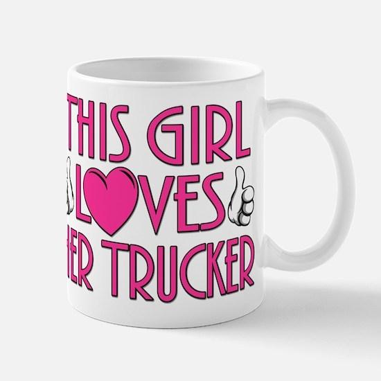 This Girl Loves Her Trucker Mug