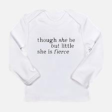She is Fierce Shakespea Long Sleeve Infant T-Shirt