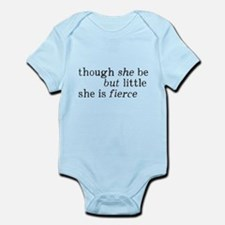She is Fierce Shakespeare Infant Bodysuit