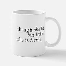 She is Fierce Shakespeare Small Small Mug