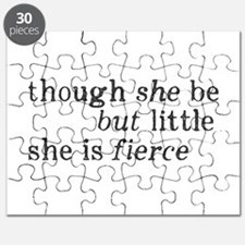 She is Fierce Shakespeare Puzzle