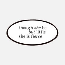She is Fierce Shakespeare Patches
